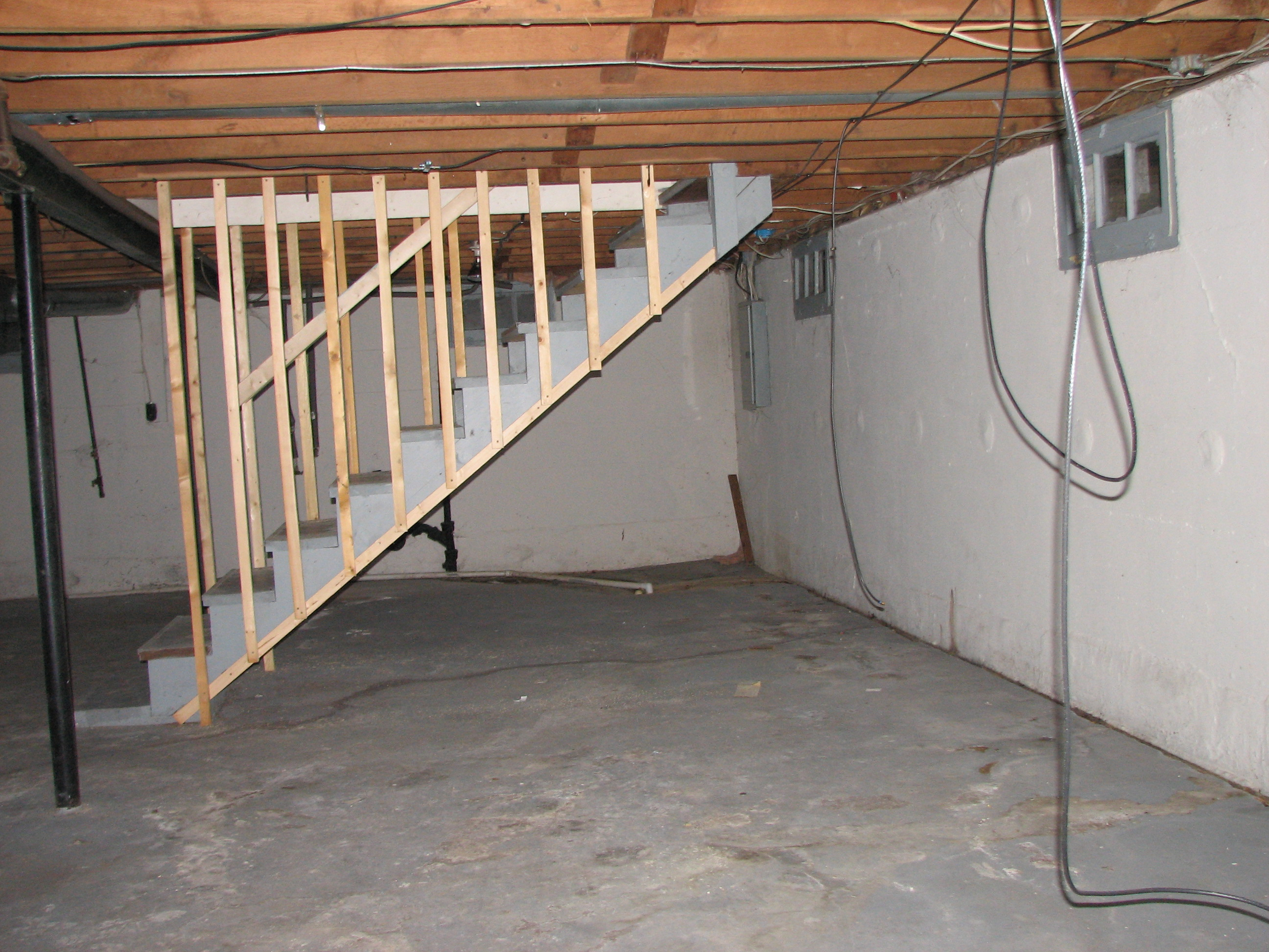the basement pre finishing system